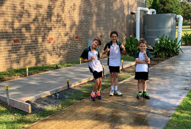 Redicrete x Belair Public School - Finished Slab
