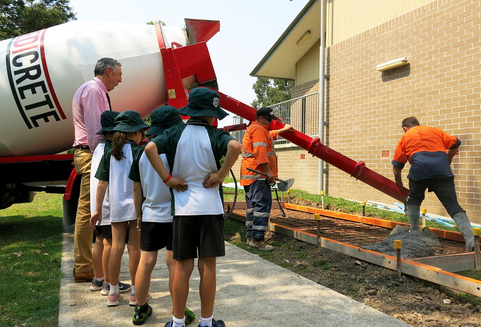 Redicrete x Belair Public School - Concreting Tips